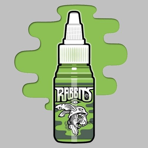 Rabbits Ink - Live's Parrot Green 35 ml