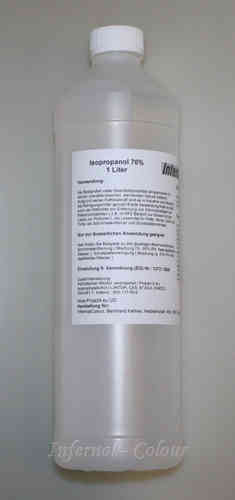 1000 ml Isoprophyl - Alkohol 70 % ( 2-propanol ) Ph. Eur., rein