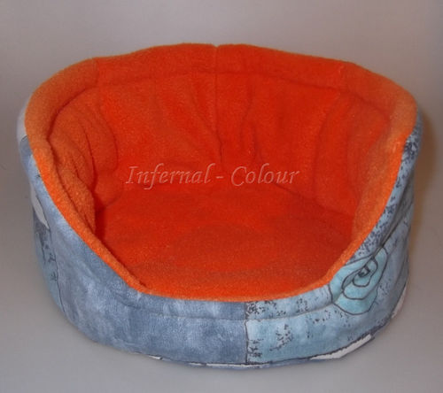 "Nest gross ""Jeansartig orange"""