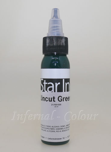 Star Ink  Uncut Green 30 ml