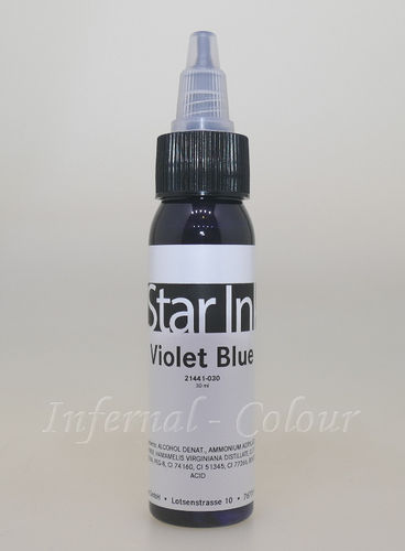 Star Ink  Violet Blue 30 ml  MHD 30.06.2021
