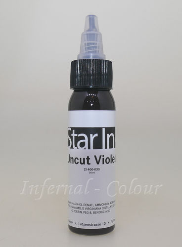 Star Ink  Uncut Violet 30 ml