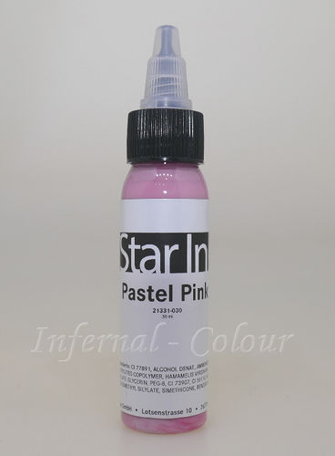 Star Ink  Pastel Pink 30 ml  MHD 30.06.2021