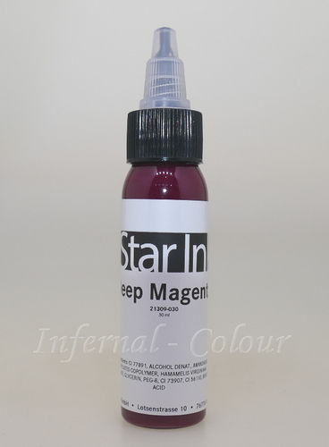 Star Ink  Deep Magenta 30 ml  MHD 30.06.2021