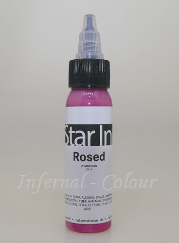 Star Ink  Rosed 30 ml  MHD 30.06.2021