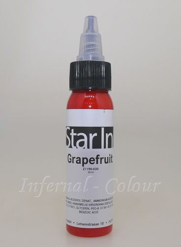 Star Ink  Grapefruit 30 ml  MHD 30.06.2021