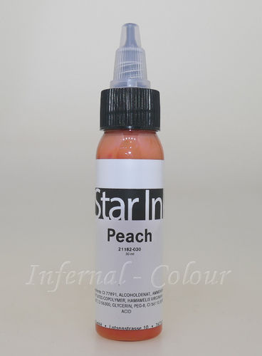 Star Ink  Peach 30 ml  MHD 30.06.2021