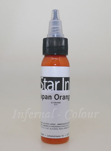 Star Ink  Japan Orange 30 ml  MHD 30.06.2021
