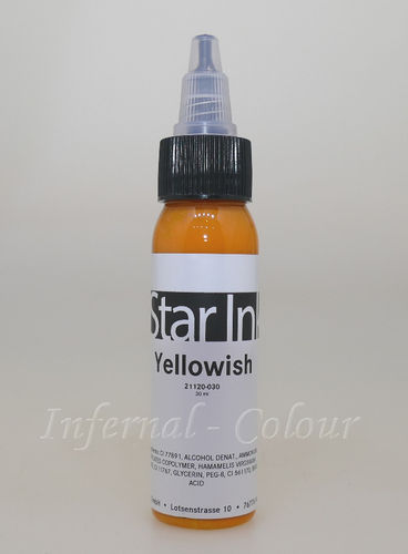 Star Ink  Yellowish 30 ml  MHD 30.06.2021